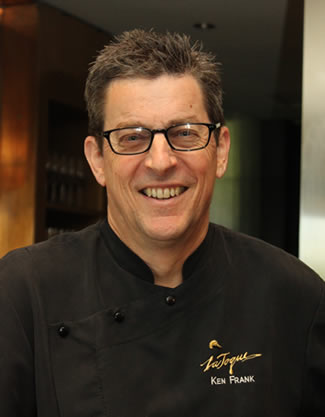 Chef Ken Frank of La Toque Restaurant in Napa