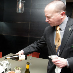 Richard Matuszczak, Wine Director at La Toque Restaurant