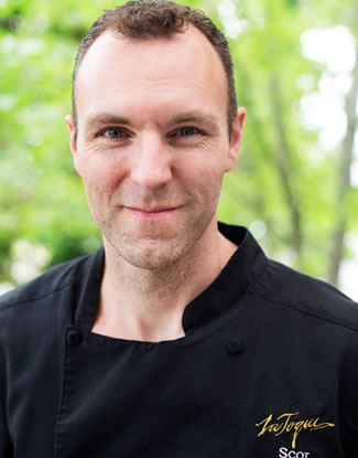 Scot Livingston, Chef de Cuisine at La Toque Restaurant