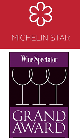 michelin and wine spectator grand award